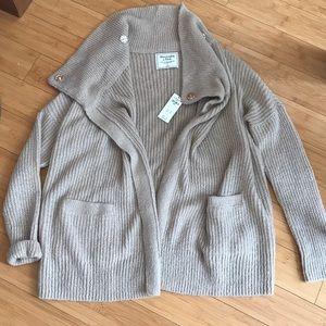Abercrombie Wool Wrap Sweater